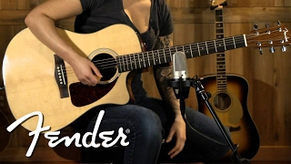 Fender Acoustic CD-140SCE Demo | Fender