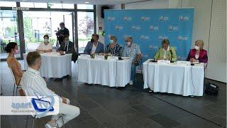 BGL BNP Paribas Luxembourg Open, Pressekonferenz vum 15.6.2021