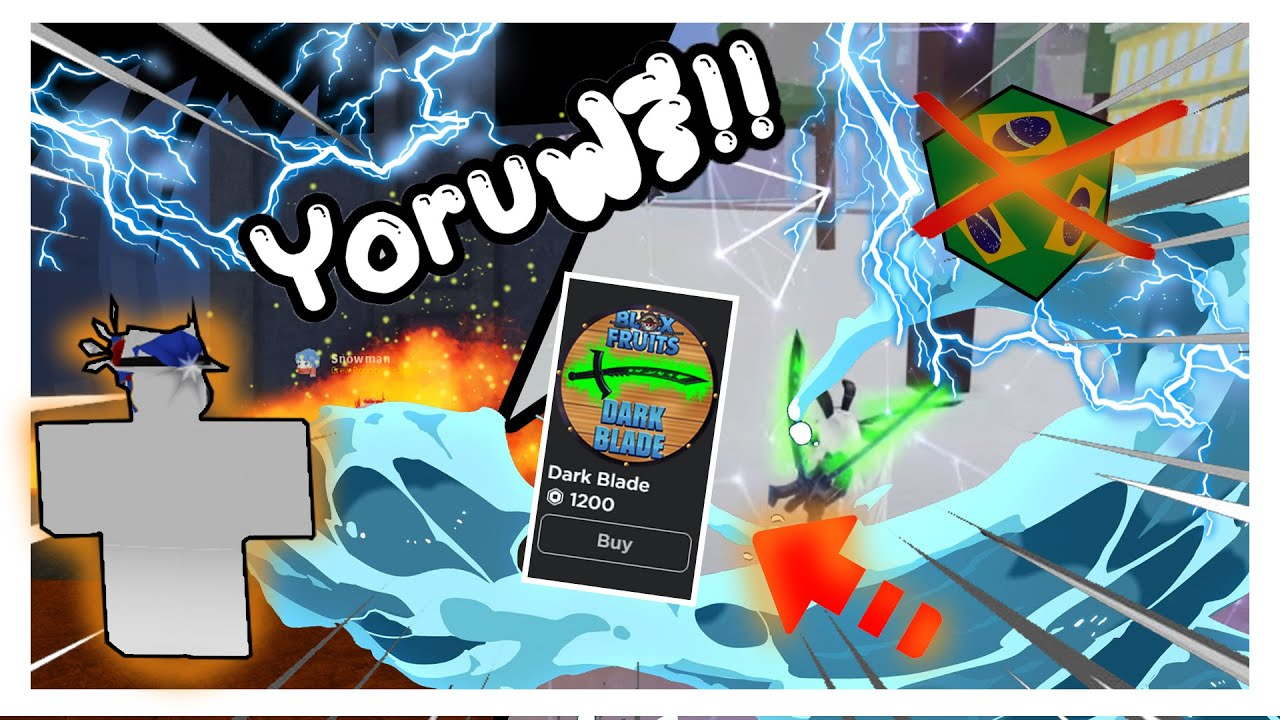 Roblox🎄 Blox Fruits [UPDATE 13] Yoruฟรี!! ทำตามนี้(Dark Blade ฟรี!!)