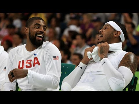 Kyrie Irving & Carmelo Anthony are FINALLY Teammates!