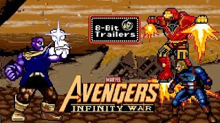 AVENGERS: INFINITY WAR - 8-Bit Trailers (2018) Marvel Superhero Film