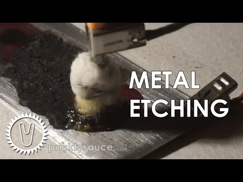 Metal Etching - How to