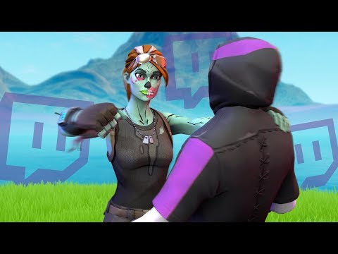 Killing Twitch Streamers (with reactions) - Fortnite Battle Royale