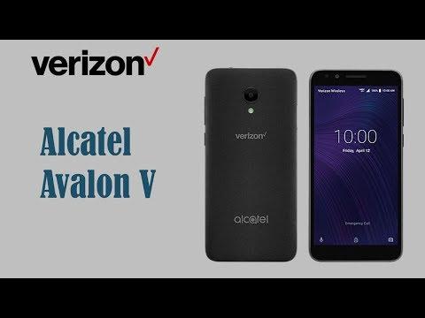 Alcatel Avalon V Verizon Wireless Specs & Price
