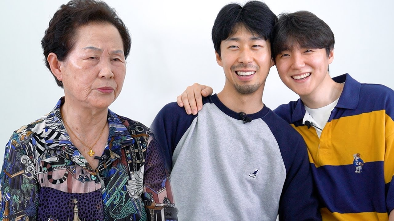 Korean Grandma Meets a Gay Couple For The First Time