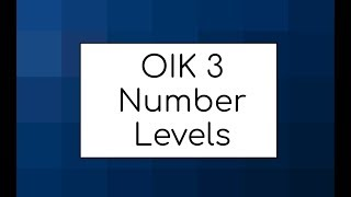OIK 3 (PC) - All Number Level Solutions