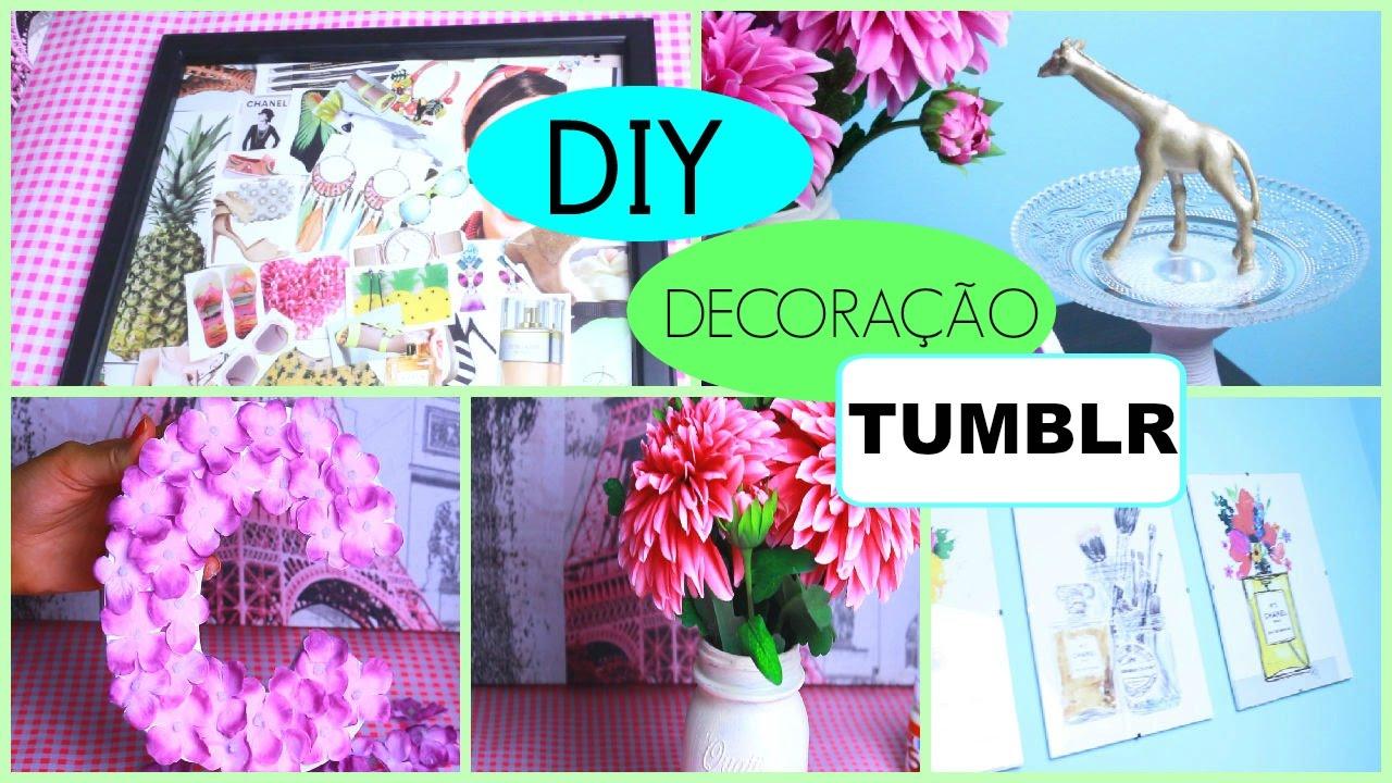 Ideias Para Decorar O Quarto Tumblr Redival Com ~ Diy Decoração Quarto Feminino E Quarto Pequeno Com Closed