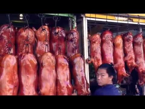 Documentary -Roasted pork Chinese Style - Asian Street Food