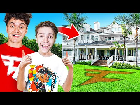 13 Year Old Moves Into The FaZe House (FaZe H1ghSky1)
