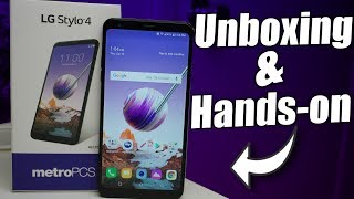 LG Stylo 4 Unboxing & Hands-On