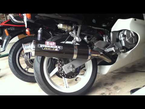 '98 CBR600 F3: Yoshimura RS-3 Carbon Exhaust