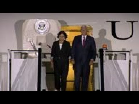 US Vice President Pence arrives in UK