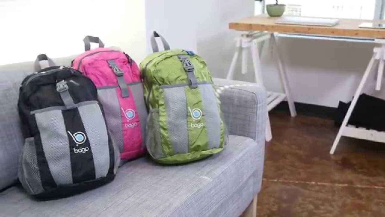 7eca4022b3 Foldable Backpack Lightweight Bag - YouTube