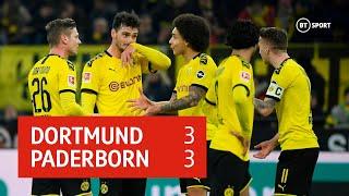 Borussia Dortmund vs Paderborn (3-3) | Bundesliga highlights