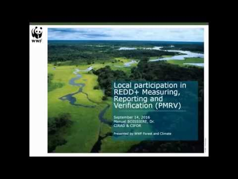 Learning Session 45: Local participation in REDD+ Measuring, Reporting and Verification (PMRV)