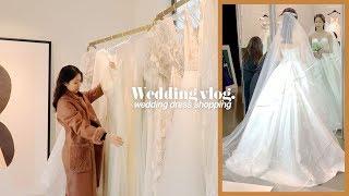 웨딩vlog | 드레스투어(소유/케일라베넷/헤리티크),…