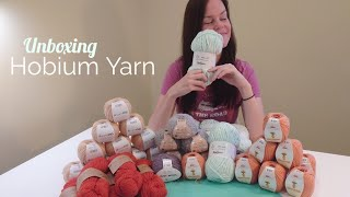 My Favourite Yarn Company Hobium Sent Me A Surprise Package!