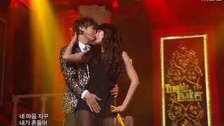 Repeat youtube video 음악중심 - Trouble Maker - Trouble Maker 트러블 메이커 - 트러블 메이커 Music Core 20111210