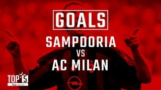 Our best goals from Samp v AC Milan