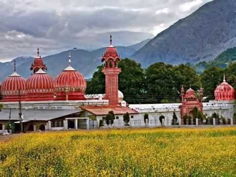 Chitral ,city in Pakistan, beautiful buildings, before the 7.5 earthquake hit in Afghanistan.