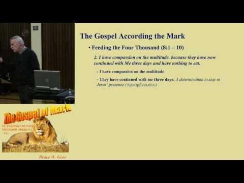 32. Feeding The Four Thousand (Mark 8:1 - 13)