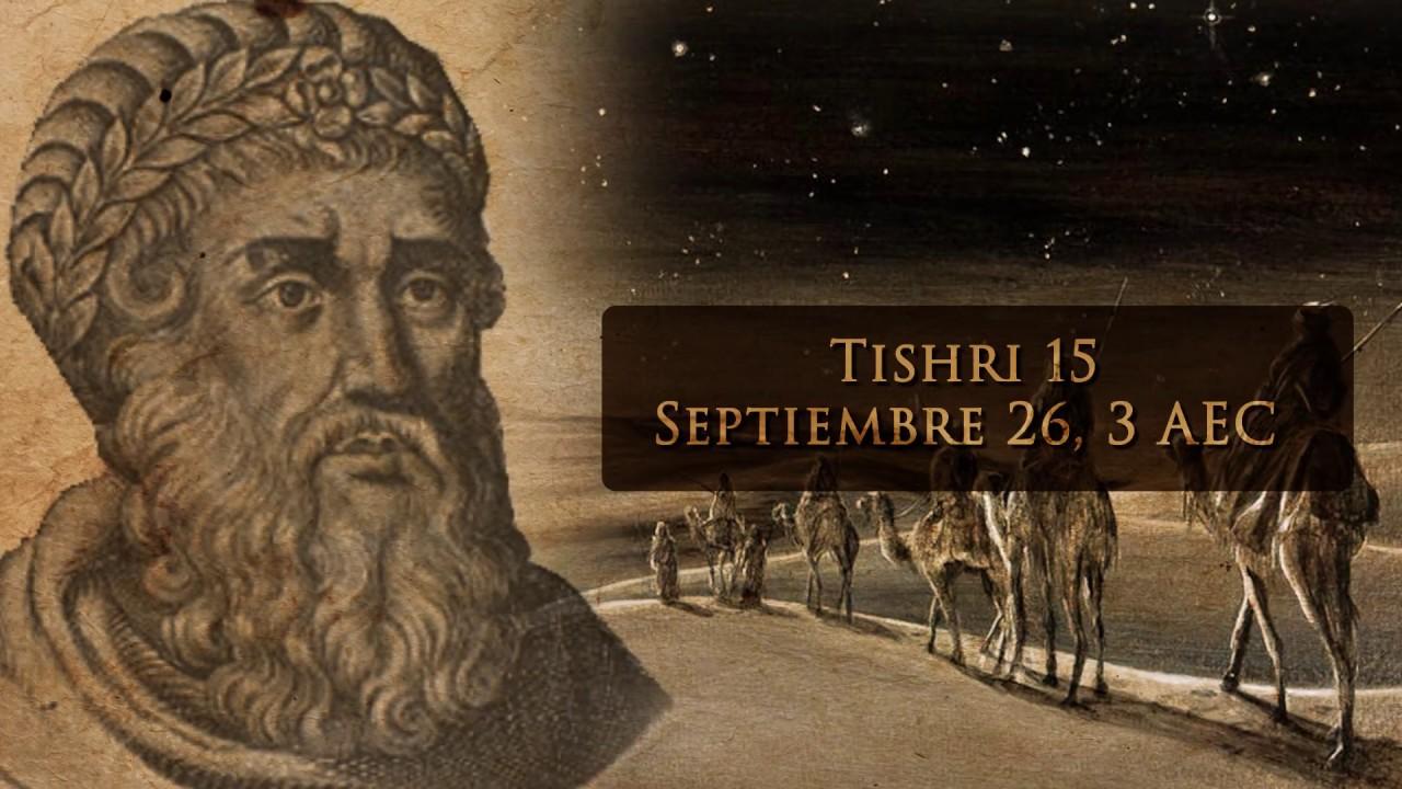 ¡Por fin!.. La fecha verdadera del nacimiento del Mesías