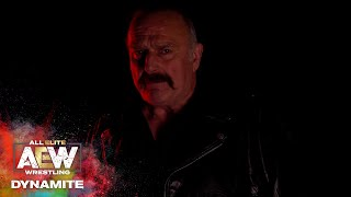 JAKE ROBERTS - THERE'S SOME PEOPLE YOU SHOULDN'T MAKE MAD   AEW DYNAMITE 4/1/20