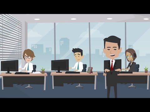 Online Hiring  Modern Technology Recruitment App Animated Explainer Video-Interact