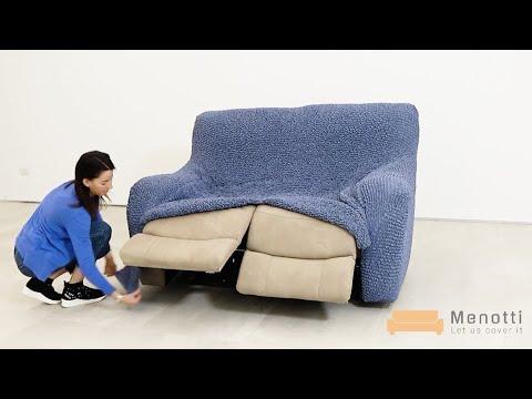 Menotti 2 Seater Recliner Sofa Cover, Sure Fit Loose Sofa Covers Uk