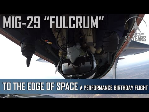 MIG-29: A High-Perfomance Birthday Flight