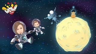 Арина и мама попали в космос | Телепорт на другую планету | Очистили планету от мусора