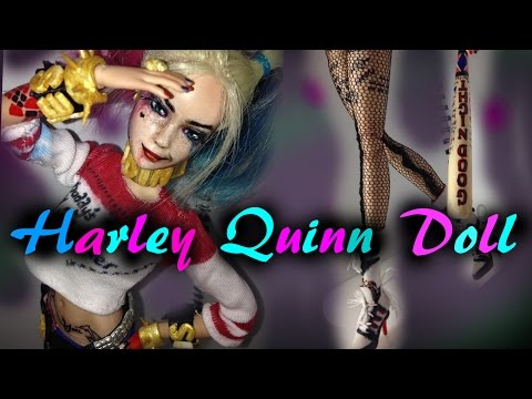 Harley Quinn Inspired Doll   SUICIDE SQUAD