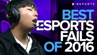 Best Esports Fails of 2016