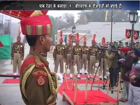 BSF Celebrates Republican Day at Wagah Border Amritsar