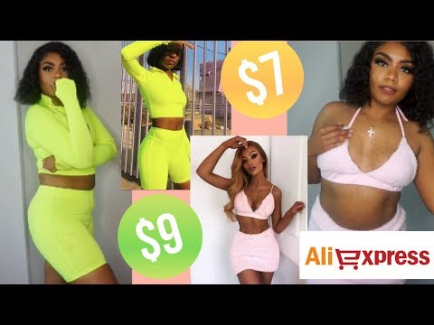 😍aliexpress-try-on-haul-||-spring-2019||