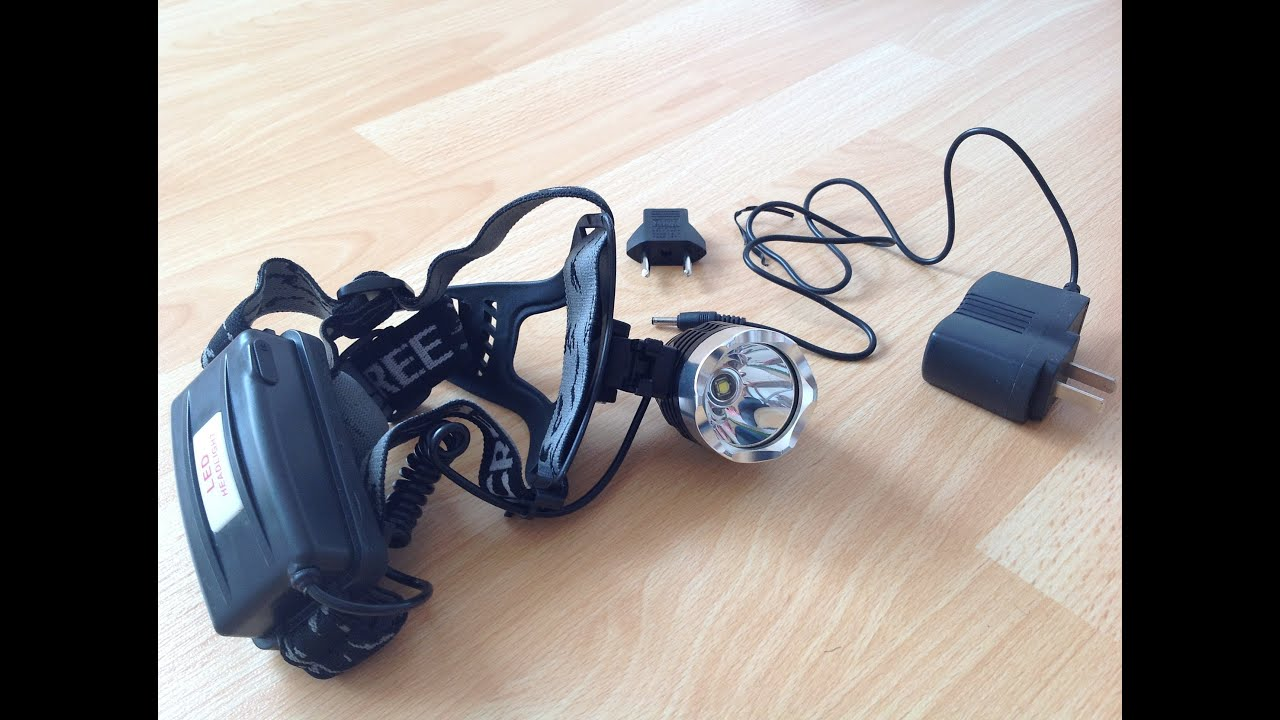 3 Modes 100000LM Headlamp Dimmable Hunting Flash Light   LED Headlight WT