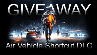 GIVEAWAY | Battlefield 3 DLC | Air Vehicle Shortcut (PS3, Xbox y/o PC)