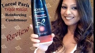 Loreal Paris Advanced Haircare Triple Resist Reinforcing Conditioner Review