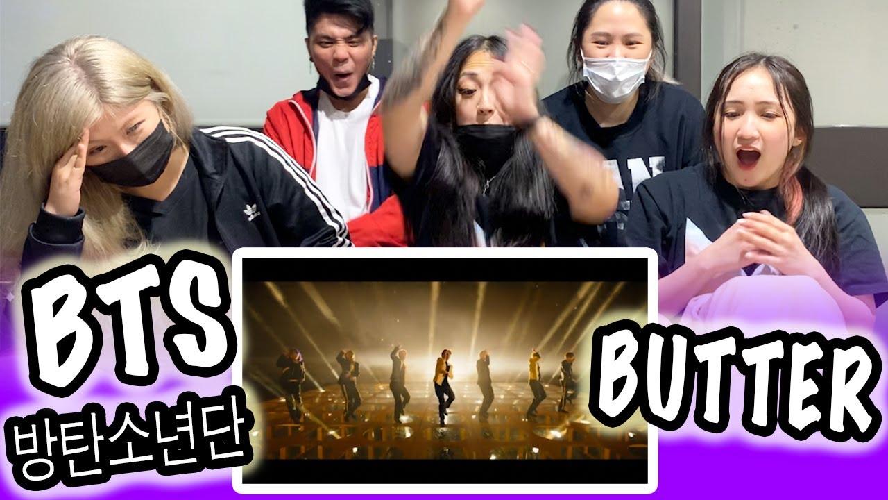 [KPOP REACTION] BTS 방탄소년단 -- BUTTER