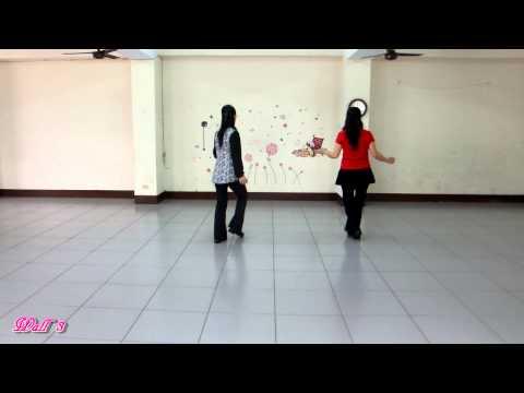 Rindu ( 想家 ) - Line Dance ( by Roosamekto & Ayu Permana )