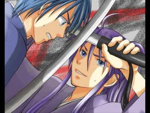 Kaito and Gakupo - Dancing Samurai