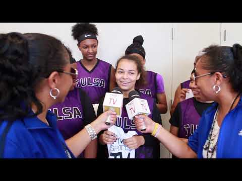 TwinSportsTV: Interview with Team Tulsa Purple 7th Grade Tea