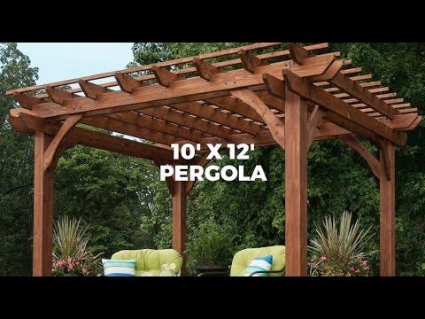 Outdoor Pergola from Parasol Outdoor Furniture Dubai