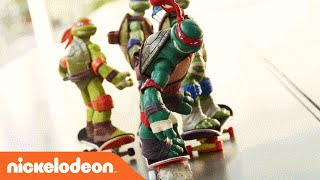 Teenage Mutant Ninja Turtles | TMNT Epic Stop Motion Ninja Fails | Nick