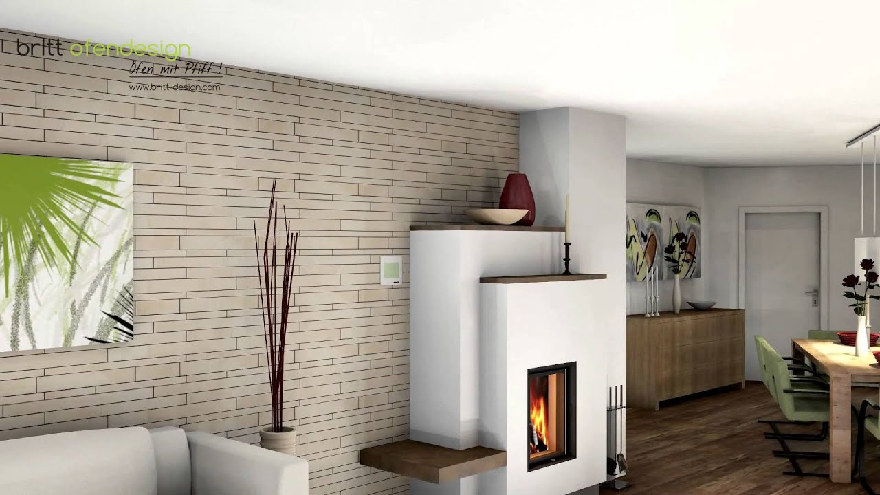 032 britt ofendesign fireplacedesign kachelofen modern tiled stove contemporary youtube. Black Bedroom Furniture Sets. Home Design Ideas