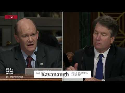 Coons to Kavanaugh: Put yourself in our shoes