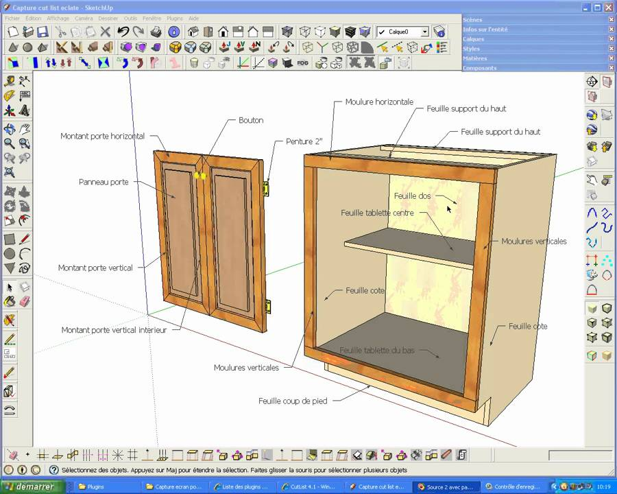 Kitchen Cabinet Plans And Cut List