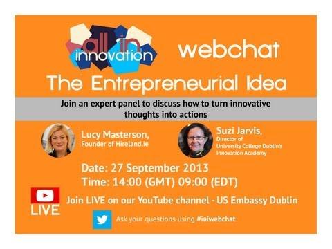 The Entrepreneurial Idea
