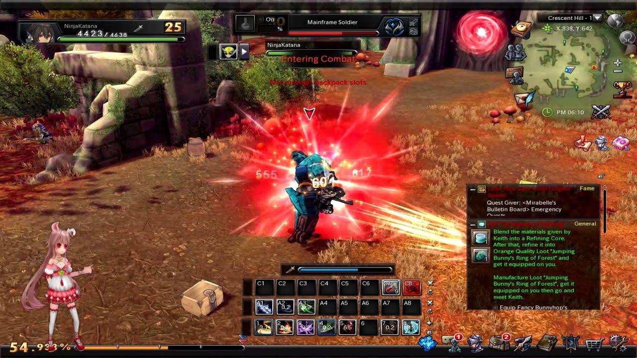 Aura Kingdom Private Server Tachi/Katana/Samurai Class ...