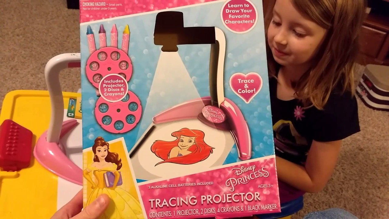 Disney Princess Tracing Projector